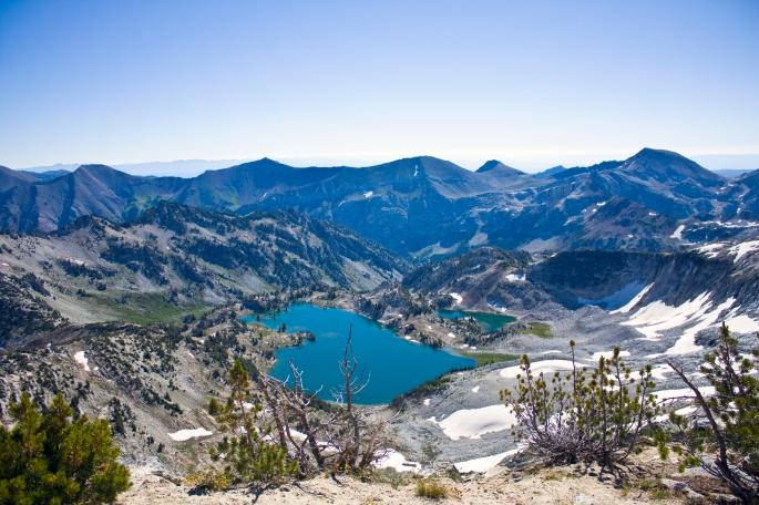 Glacier Lake from Eagle Cap Trail Maybe